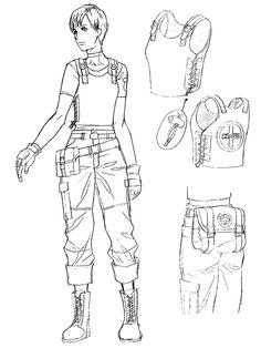 Rebecca Chambers Sketch