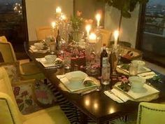 casual dinner party ideas - Yahoo Image Search Results - Bring Back Dinner Casual Dinner Parties, Casual Party, Disco Party Decorations, 2nd Birthday Party Themes, Dinner Party Table, Elegant Table Settings, Barrel Chair, Party Ideas, Image Search