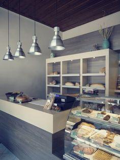 "Bakery ""Το Αρτοπωλείον"" by z-architects, via Behance"