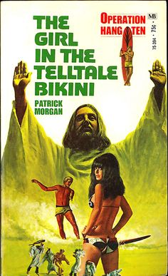 Pulp Cover Art - The Girl in the Telltale Bikini - The Girl in the Telltale Bikini