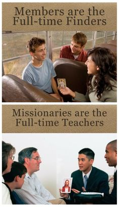 "Didi @ Relief Society: ""Missionaries are full-time teachers; you and I are full-time finders."" – David A Bednar"