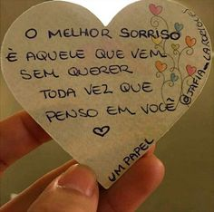 O melhor sorriso é aquele Stupid Love, Sad Love, True Love, Love Quotes For Boyfriend, Diy Gifts For Boyfriend, Unrequited Love, Love Post, Some Words, Love Messages