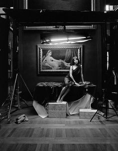 Sophie Marceau by Kate Barry