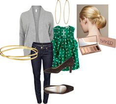 """""""Teaching Outfit"""" by ashxzx on Polyvore"""