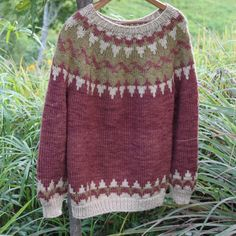 Hill Billy Sweater – Mulberry – by Timber and Twine