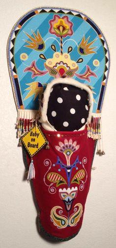 HolyShip!...........so talented! Cradle board, Jamie Okuma