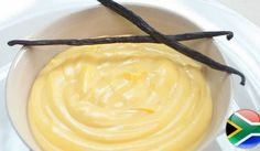 If you've immigrated to a country where custard is not the go-to for a dessert spruce up, you're bound to be craving a big spoonful of sweet, creamy, custard-y goodness. The good news is that you can make your own custard or at least get your hands on some Ultramel at a local South African shop! Phew! Easy Cooking, Cooking Recipes, Custard Recipes, Mini Tart, Dutch Recipes, Sweet Cakes, Dessert Recipes, Desserts, High Tea
