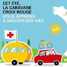 Caravane d'été de la Croix-Rouge : initiations aux gestes de premiers secours dans 9 villes de France