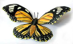 Monarch Butterfly Metal Wall Painted Metal Butterfly Wall Hanging, Outdoor Decor, Recycled Steel Drum, Outdoor Metal Art by TropicAccents on Etsy Metal Butterfly Wall Art, Butterfly Wall Decor, Butterfly Art, Monarch Butterfly, Butterfly Crafts, Butterfly Design, Metal Art Decor, Outdoor Metal Wall Art, Metal Garden Art
