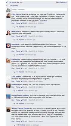 A House GOP leader asked for Obamacare horror stories. Instead, she got love letters.