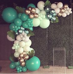 Balloon Decorations Party, Balloon Garland, Birthday Party Decorations, Baby Shower Decorations, Birthday Party Planner, 1st Birthday Parties, Welcome To The Party, Boy Baby Shower Themes, Wedding Balloons