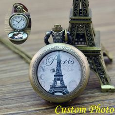 $9.99 (Buy here: https://alitems.com/g/1e8d114494ebda23ff8b16525dc3e8/?i=5&ulp=https%3A%2F%2Fwww.aliexpress.com%2Fitem%2FPARIS-Eiffel-Tower-Pocket-Watch-Antique-Locket-Necklace-Vintage-Bronze-Pocket-Watch-Necklace-custom-personal-photo%2F32761357240.html ) PARIS Eiffel Tower Pocket Watch Antique Locket Necklace Vintage Bronze Pocket Watch Necklace custom personal photo for gift for just $9.99