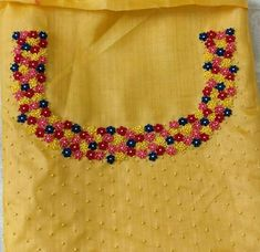 Call/whatsapp 9035330901 for hand worked kurti/dress materials customisation.