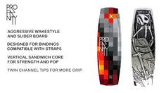 Short video explaining the features of the Profanity v2 wakestyle board.