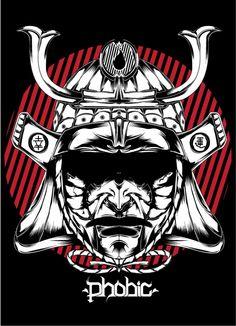Samurai Mask by SeedSickShit.deviantart.com on @DeviantArt