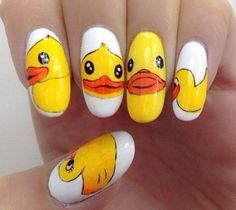 rubber ducky nails - Google Search