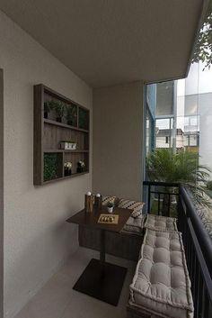 46 Inspiring Mini Bar Design Ideas On Your Apartment Balcony Design # Decor, Interior, Balcony Furniture, Home, Small Apartments, Living Room Interior, Mini Bar, Cozy Apartment, Apartment Balcony Decorating