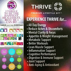 Do you want to EXPERIENCE any of these things? Contact me today to get you on your way to starting your EXPERIENCE! Message me, email me at AEFRANKS_THRIVE@MAIL.COM or visit aefranks.le-vel.com