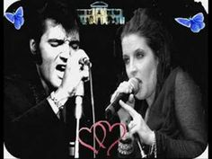 """i presente you my new video of elvis and lisa marie,the name of the song of the video  is """"angel's wings"""" and the singer marisa"""