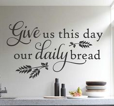 daily bread decal