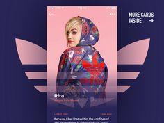50 User profile page — Design Inspiration | by Muzli | Muzli - Design Inspiration Web Design, Page Design, Creative Design, Design Art, Profile App, Profile Website, Corporate Website Design, Application Design, Ui Design Inspiration