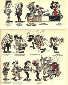 La rédaction vue par Franquin - Spirou n°1312 - 1963