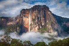 Las cascadas más bonitas del Mundo | Salto del Ángel. Venezuela