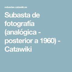 Subasta de fotografía (analógica - posterior a 1960) - Catawiki