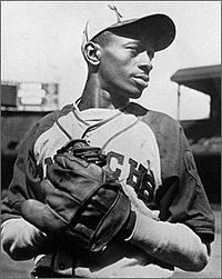 """Leroy Robert """"Satchel"""" Paige (July 7, 1906 – June 8, 1982) was an American baseball player whose pitching in the Negro leagues and in Major League Baseball (MLB) made him a legend in his own lifetime. He was elected to the Baseball Hall of Fame in 1971, the first player to be inducted based upon his play in the Negro leagues. #sports #baseball"""