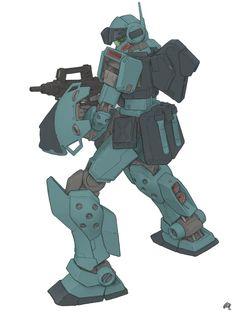 Fan Art - RGM-79SP GM Sniper II : Gundam