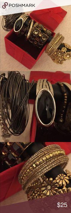 Bundle of Bangles & Charms Bundle Sale ❤️️ Accessories