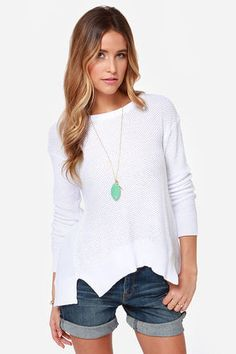 BB Dakota Kit Ivory Sweater