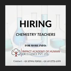 Hiring Chemistry Teachers. . Please contact for more info. . #secunderabad #hyderabad #sainikpuri #yapral #trimulgherry#india #army #bsf #jaihind #crpf #nsg #paracommando #nda #ssb #armylife #specialforces #commando #parasf #marcos #hometuition #chemistry #tuition #school #lecturer Impact Academy, Home Tutors, Chemistry Teacher, Army Life, Special Forces, Hyderabad, India, School, Reading