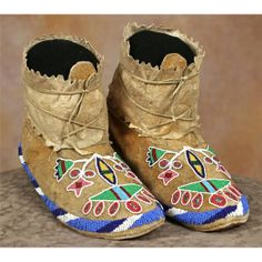Blackfoot Beaded Moccasins n.d.