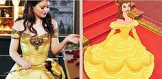 Once upon a time vs Disney / Belle