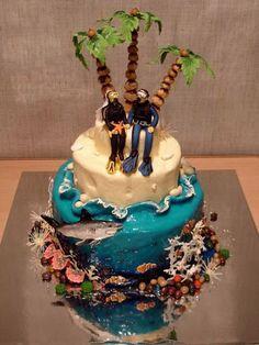 diver wedding cakes Unique - Wedding Cakes 2013