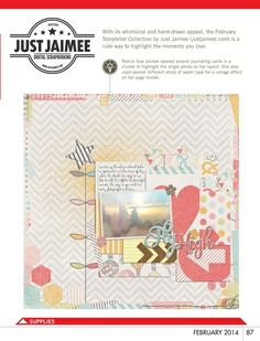 Paper Crafts & Scrapbooking - February 2014 - Page 87