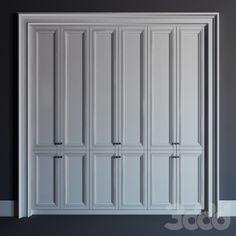 Встроенный шкаф 02\fitted wardrobe 02
