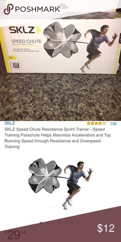 Running parachute ---#New in box Increase your speed with this new in box SKLZ shred chute (resistance). Much more money on amazon Accessories
