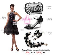 Elegantní krátké černé...kombinace, která by neměla chybět v šatníku u žádné dámy.