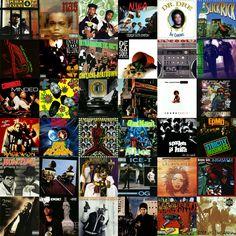 BEST HIP HOP ALBUMS EIGHTIES NINETIES ALL TIME 1980S 1990S