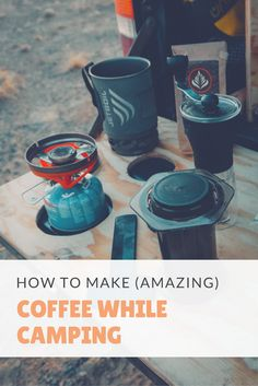 Wish you could make great coffee while camping, road tripping, or travelling? This is the best camping coffee maker I've ever used and what I recommend. Camping Meals, Tent Camping, Camping Hacks, Camping Cabins, Backyard Camping, Backpacking Meals, Camping Recipes, Outdoor Camping, Outdoor Gear