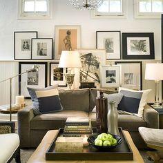 Gray Velvet Sofa, Contemporary, living room, David Jimenez