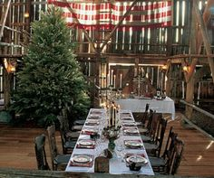 Designer Ralph Lauren and his wife, Ricky, create a rustic haven at their house at the sprawling Double RL Ranch in Colorado Lofts, Colorado Ranch, Montana Ranch, Barn Parties, Dinner Parties, Holiday Parties, Ralph Lauren Style, Celebrity Houses, The Ranch