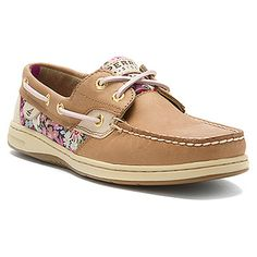 Sperry Top-Sider Bluefish 2-Eye in Linen/Liberty Pink Floral