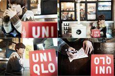 Korea Model모델 /Idol아이돌: 安宰賢 x UNIQLO