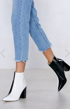 49927dd9ee57 Nasty gal two toned boot