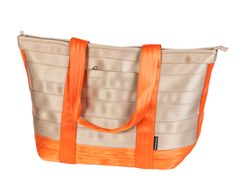 Repurposed Seat Belt Bag. Save our landfills from millions of yards of seat belt fabric and look fab too!