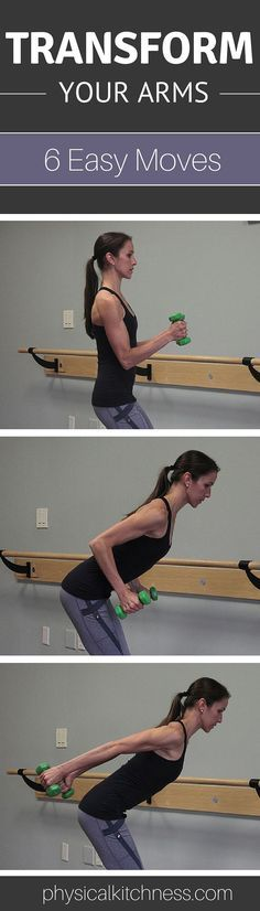 Totally Transform Your Arms with 6 Easy Moves. And only 10 minutes!