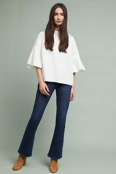 Lorena Flutter-Sleeve Pullover $98
